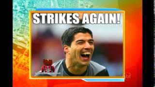 O atacante Suárez é protagonista do Uruguai, mesmo no dia em que não brilha tecnicamente. Na vitória da Celeste sobre a Itália nessa terça-feira, por 1 a 0, o jogador mordeu o braço de Chiellini, momentos antes de sair o gol da classificação uruguaia. O defensor italiano mostrou as marcas em seu ombro, depois de se enroscar com o camisa 9 em uma dividida.