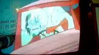 101 Dalmatians-Cruella's Car Crashing Scene