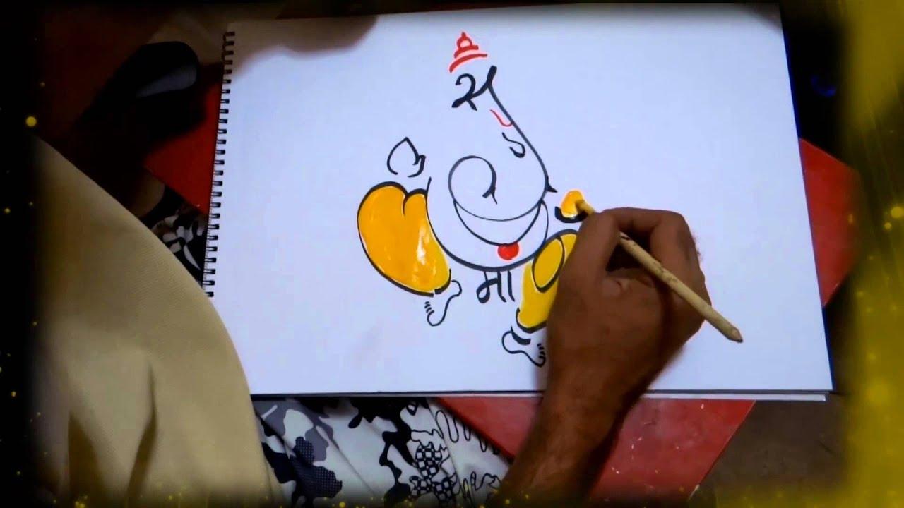akshar ganesh art (artist abhishek chitnis ) { art ...