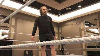 Daniel Bryan tries his first backflip in three years: WrestleMania Diary