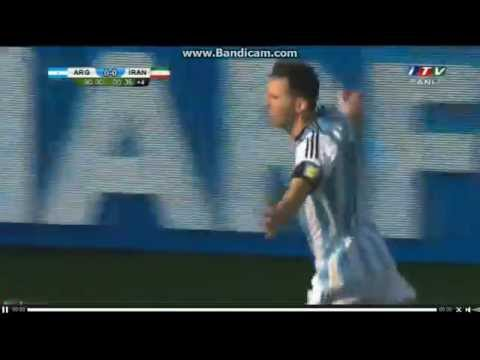 Messi goal vs IRAN