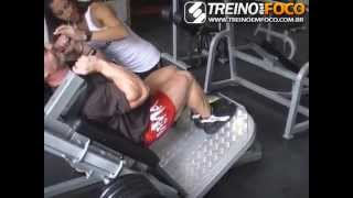 Treino De Pernas Para Hipertrofia Muscular Alexandre