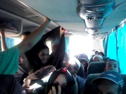 فضيحة : شركة نقل بين تافراوت وطنجة تذيق المسافرين طعم الجحيم( الفيديو)