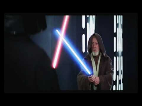 Star Wars Fan Edit: Obi Wan vs Vader - Episode IV, A New Hope