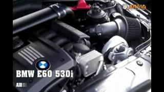 Тюненый двигатель N52B30 с установленным суперчарджером