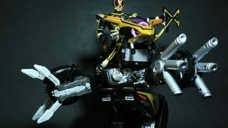 Toy Review: Super RHF Side Basshar and Kamen Rider Kaixa view on youtube.com tube online.