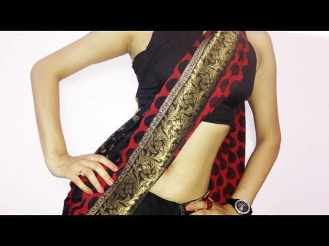How To Wear Saree And Look slim-How To Carry Indian Saree