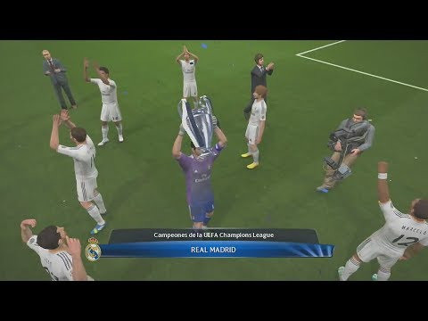 Un partido de Infarto - Final de la  Champions League Real Madrid VS Atletico de Madrid   Pes 2014