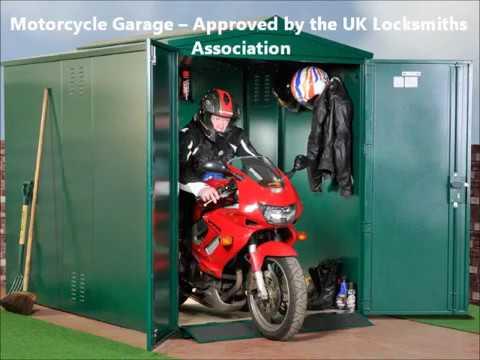 Asgard Centurion Motorcycle Storage Garage 9X5