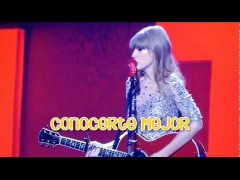 Taylor Swift - Everything Has Changed LIVE (Subtitulada al español)