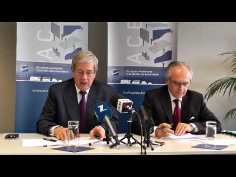 ACEA Press Conference, with Philippe Varin