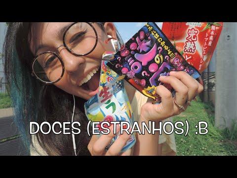 Supermercado japonês e doces estranhos #1