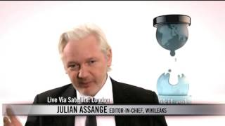 Bill Maher Interview with WikiLeaks Julian Assange