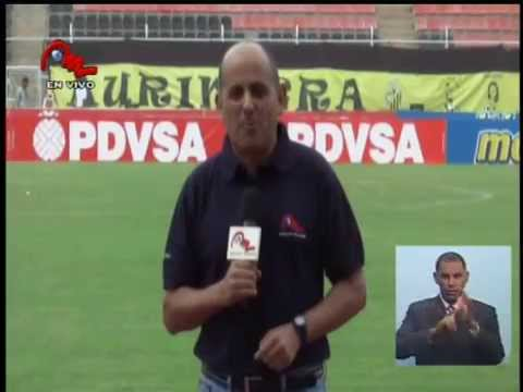 Deportivo Táchira 3  Caracas FC 2 Noticiero Meridiano TV  28abril2014