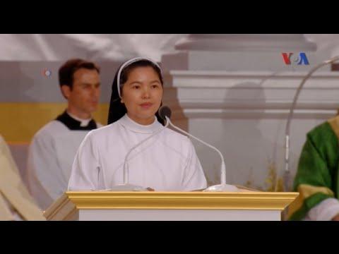 Người Công giáo Việt Nam nổi bật trong Thánh lễ của Đức Giáo hoàng ở Mỹ