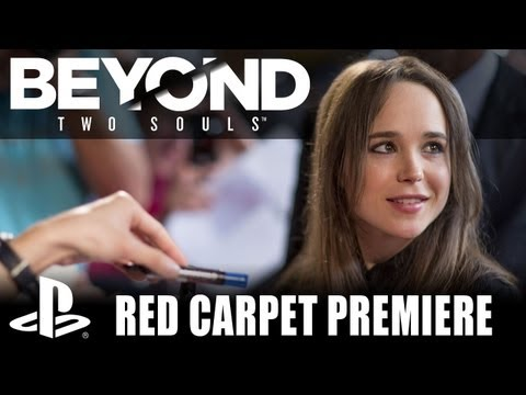 Beyond: Two Souls - Ellen Page on the Red Carpet Premiere