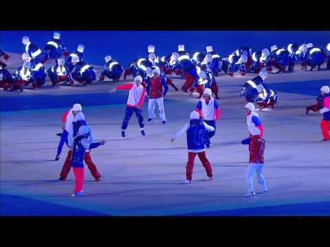 INCREDIBLE cossack dance at the closing ceremony of Sochi 2014 Winter Paralympic Games