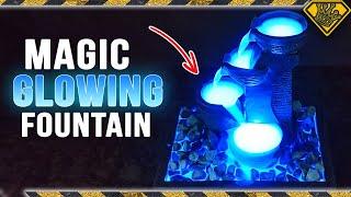 Create a Magic GLOWING Water Fountain