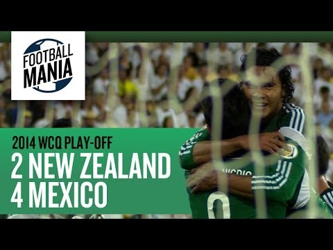 Goals - New Zealand 2 x 4 Mexico - Intercontinental Play-Off - Leg 2