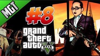 Grand theft Auto 5 Parte #8 Recuperando El Bote Robado En EspañoL