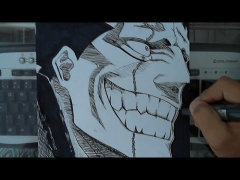 How to Draw Kenpachi Zaraki (Bleach)