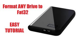 How To Format An External HDD To Fat32 (For Xbox 360 & PS3