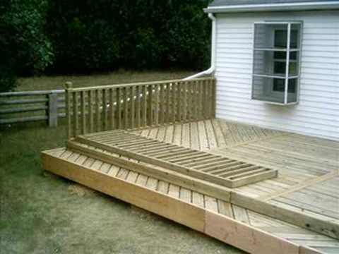 Videos pallet deck videos for Decking made from pallets