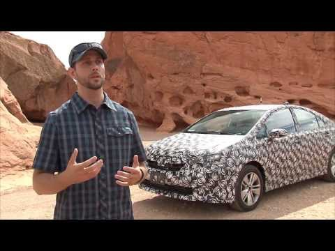 Toyota Fuel Cell Testing Vehicle - Hot Weather Test