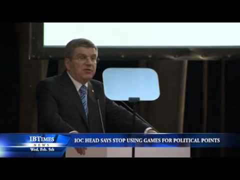 IOC Head Says Stop Using Games for Political Points