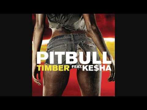 Pitbull   Timber Audio ft  Ke$ha + Tekst