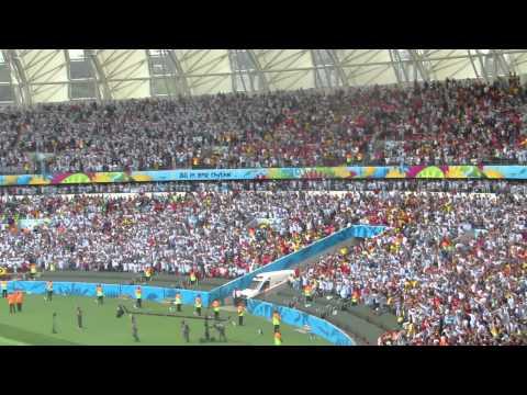 Himno Argentino, Argentina 3 Nigeria 2, Porto Alegre. Fabricio Coller