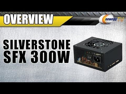 SILVERSTONE SFX 300W Power Supply Overview - Newegg TV