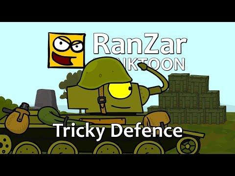 Tanktoon - �stiv� obrana