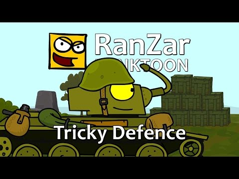 Tanktoon - lstivá obrana