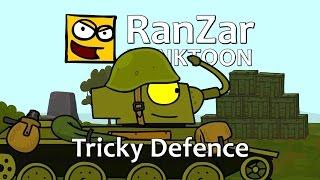 Tanktoon - ľstivá obrana