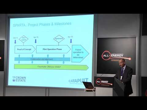 Neil Simpson, Project Manager, Offshore Renewable Energy Catapult at All-Energy 2014