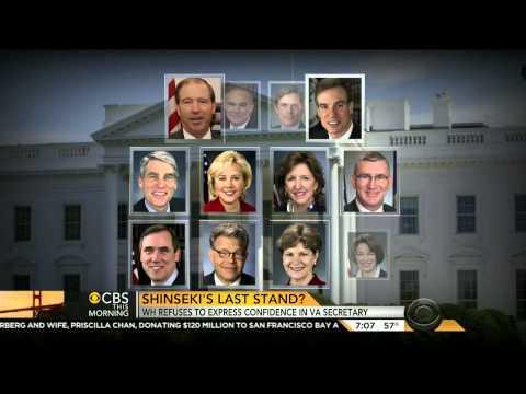 CBS: Eric Shinseki's fate seems sealed