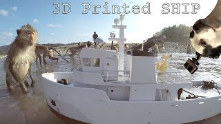 GIANT 3D Printed Utility Ship part 2