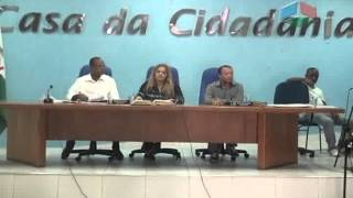 A primeira reunião extraordinária da câmara municipal acontece no dia 2 de fevereiro 2015 com a nova presidente.