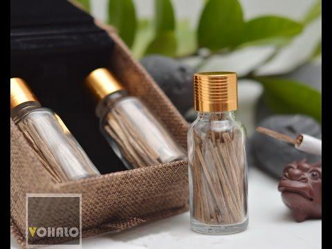 Trầm hương hút thuốc lá - giảm mùi hôi và tác hại của thuốc lá
