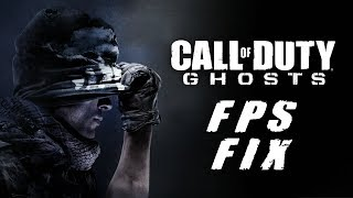 """""""HOW TO FIX FPS LAG IN CALL OF DUTY GHOSTS!"""" COD: GHOSTS"""