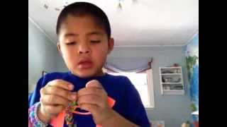"""Rainbow Looms: How To Make A """"Sailor's Pinstripe"""" With"""