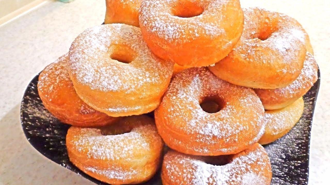 Изумительные пончики из чудо теста!