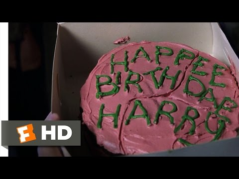 Harry Potter and the Sorcerer's Stone (1/5) Movie CLIP - Harry's Birthday (2001) HD, Harry Potter 1 Movie Clip - watch all clips http://j.mp/AathRK click to subscribe http://j.mp/sNDUs5 Hagrid (Robbie Coltrane) bursts down the Dursley's door ...