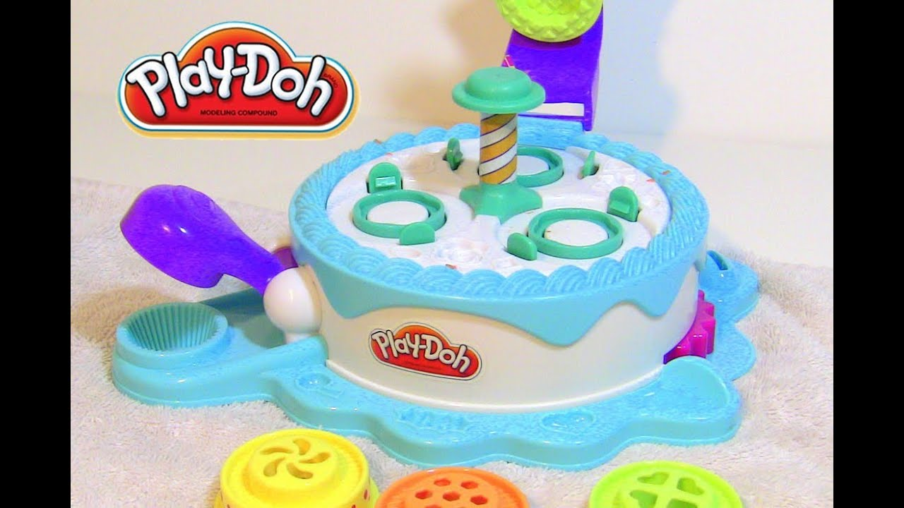 Cake Ice Cream Play Doh : Play-Doh Cake Cupcake Maker Frosting Toy Play Set like the ...