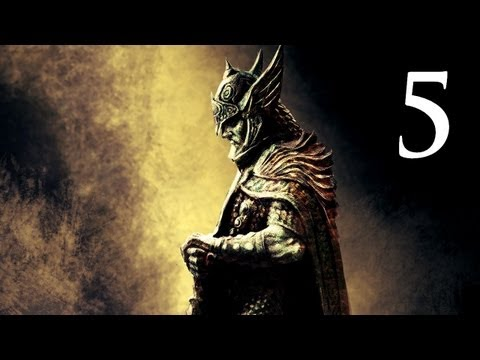 Elder Scrolls V: Skyrim - Walkthrough - Part 5 - Bleak Falls Barrow (Skyrim Gameplay)