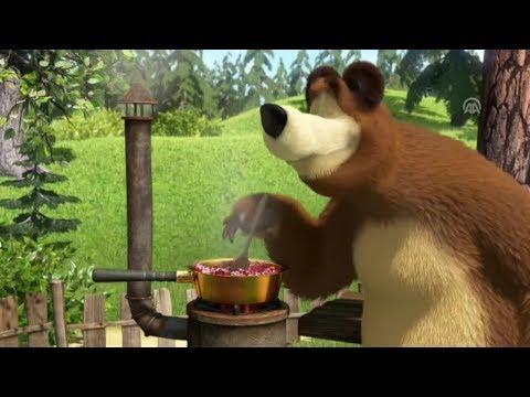 Cô bé masha và chú gấu xiếc   Chú gấu xiếc làm mứt   Masha siêu quậy chọc phá chú gấu