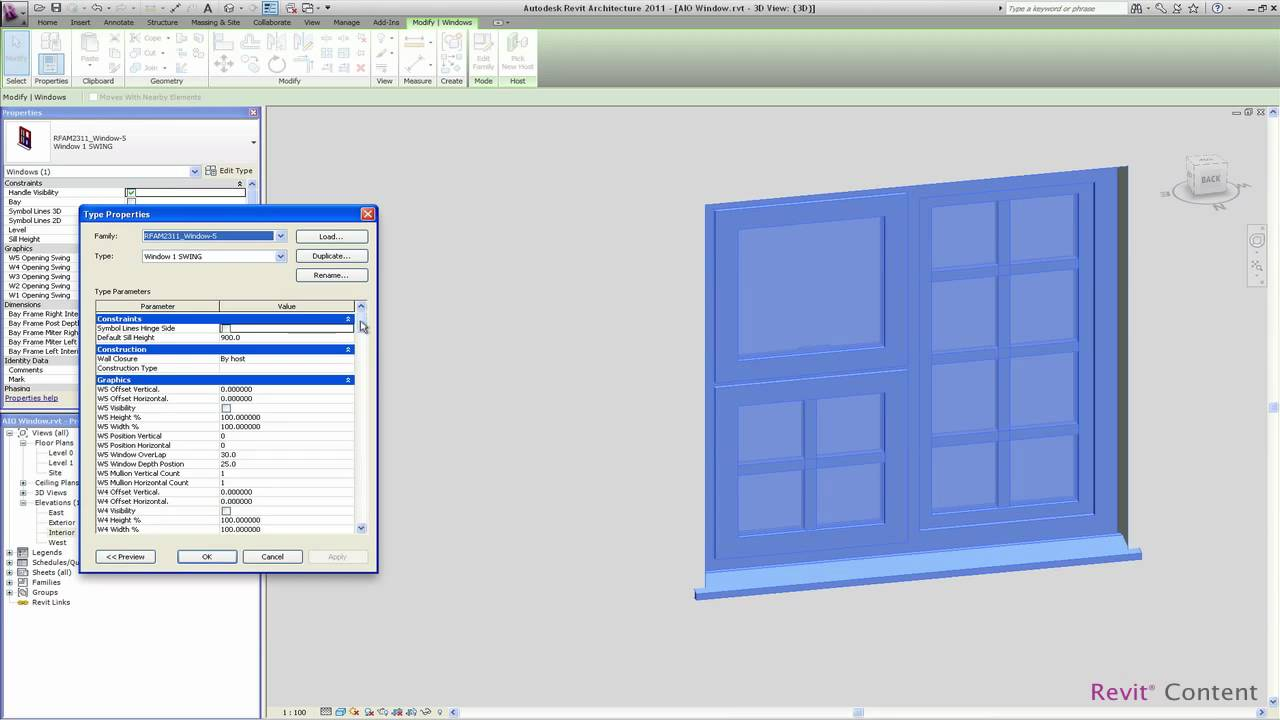 how to change revit to metric