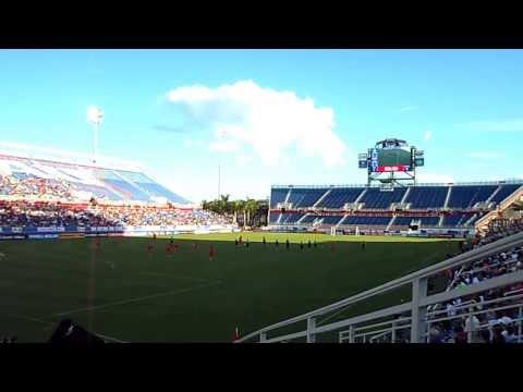 U.S. Gol score by 23 CHRISTEN PREES U.S. Women's Soccer 7-0 Russia FAU Boca Raton, FL sat feb 8 2014