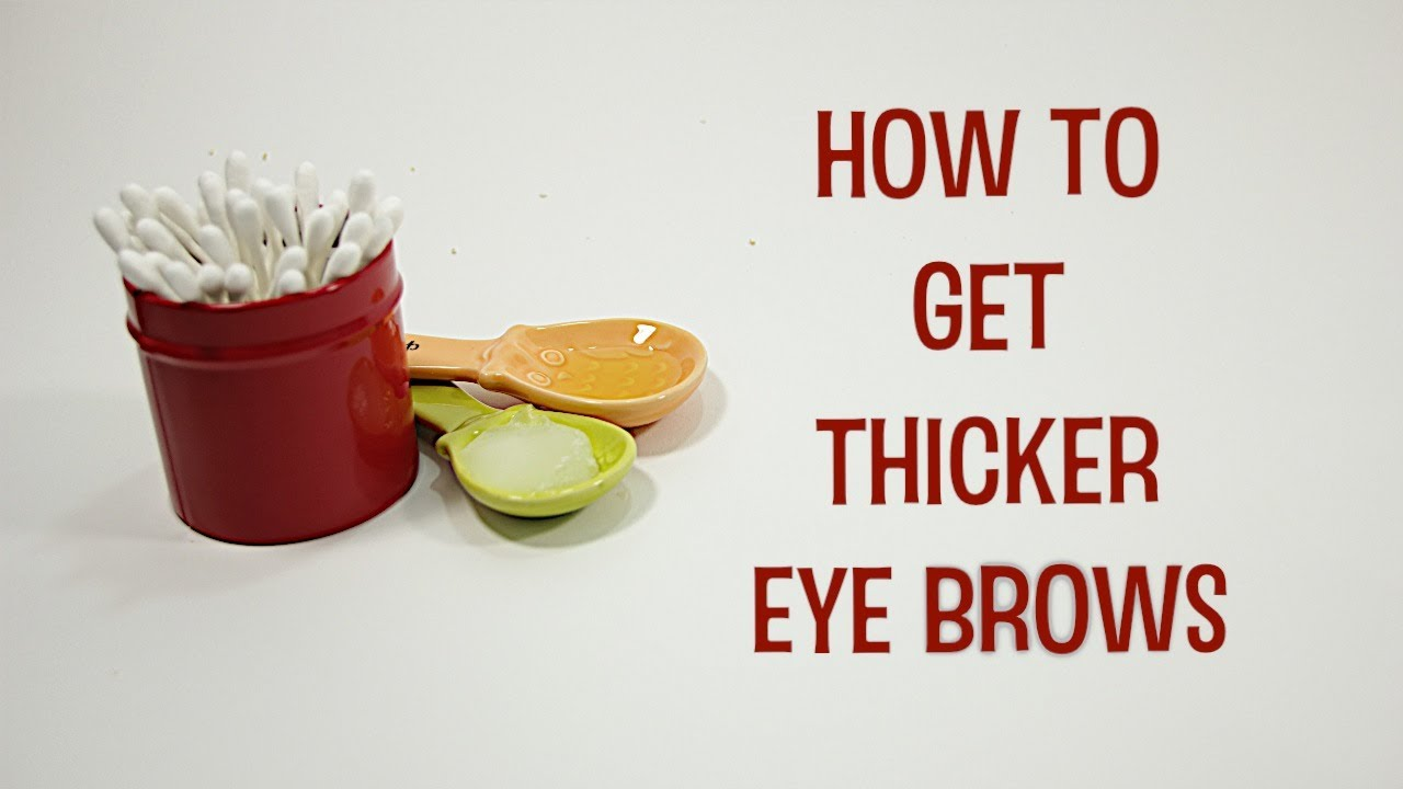 how to make your eyebrows longer